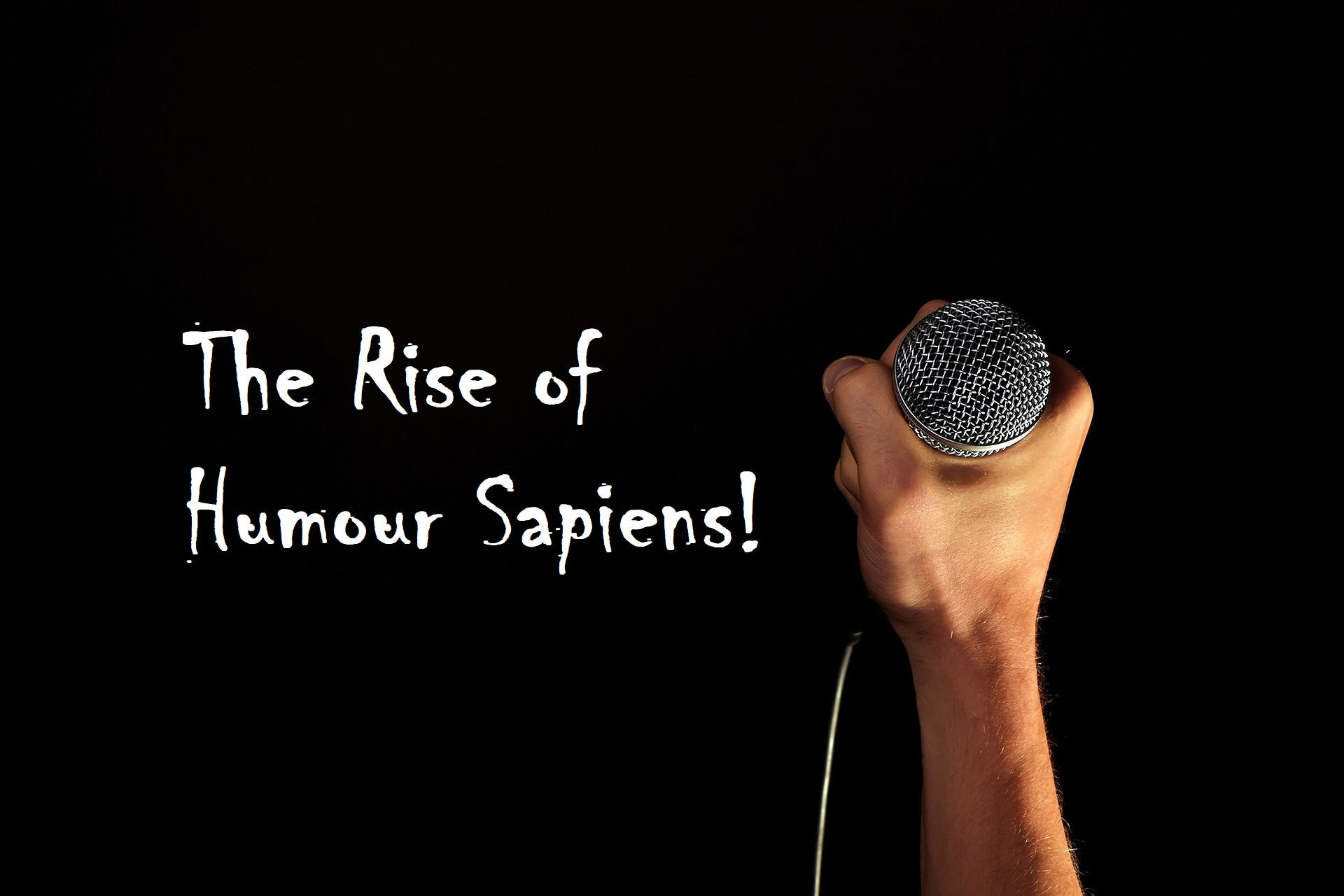 the rise of humour sapiens- comedian