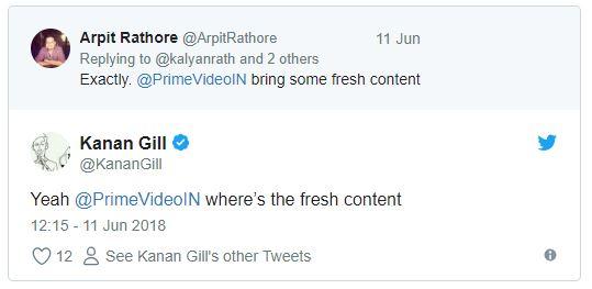 Kanan Gill - amazon prime