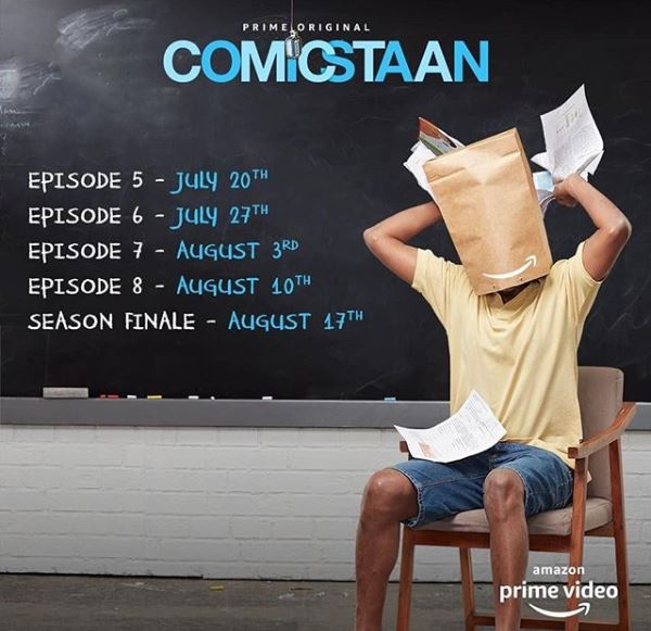 COMICSTAAN - Timetable