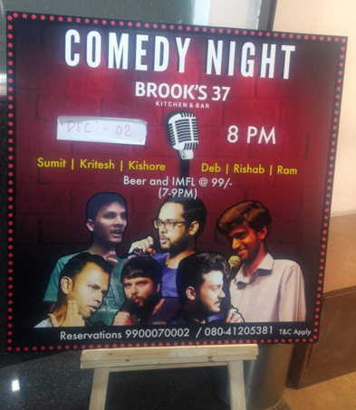 Comedy Night at Brook's 37